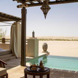 Abu Dubai Honeymoon Packages Jumeirah Al Wathba Porch View