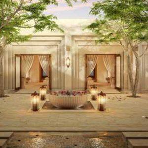 Abu Dubai Honeymoon Packages Jumeirah Al Wathba Spa Courtyard
