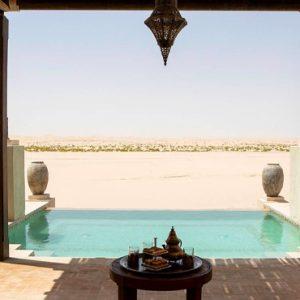 Abu Dubai Honeymoon Packages Jumeirah Al Wathba Two Bedroom Pool Villa 2