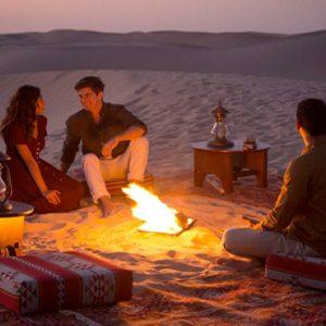 Abu Dubai Honeymoon Packages Jumeirah Al Wathba Dining On The Safari