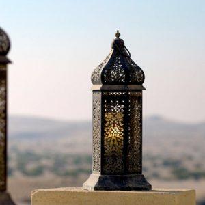 Abu Dubai Honeymoon Packages Jumeirah Al Wathba Lantern Lit Rooftop Bar