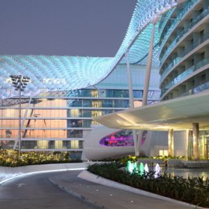 Abu Dubai Honeymoon Packages W Abu Dhabi Yas Island Exterior11