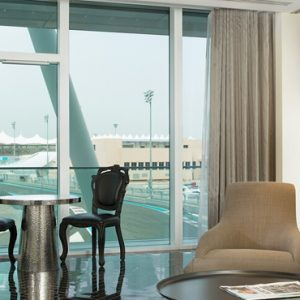Abu Dubai Honeymoon Packages W Abu Dhabi Yas Island Fantastic Suite (King)