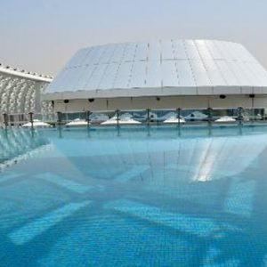 Abu Dubai Honeymoon Packages W Abu Dhabi Yas Island Pool2