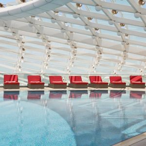 Abu Dubai Honeymoon Packages W Abu Dhabi Yas Island Pool3