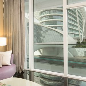 Abu Dubai Honeymoon Packages W Abu Dhabi Yas Island Spectacular Room (King)2