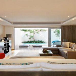Bali Honeymoon Packages Double Six Luxury Hotel, Seminyak Deluxe Suite Plunge Pool