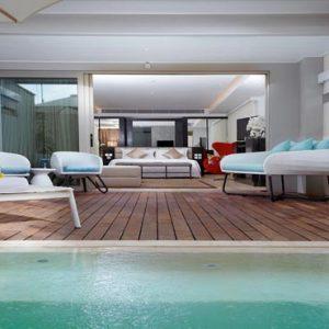 Bali Honeymoon Packages Double Six Luxury Hotel, Seminyak Deluxe Suite Plunge Pool2