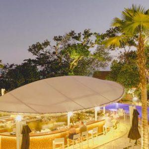 Bali Honeymoon Packages Double Six Luxury Hotel, Seminyak Lagoon Bar1