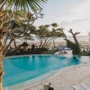 Bali Honeymoon Packages Double Six Luxury Hotel, Seminyak Lagoon Pool1