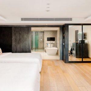 Bali Honeymoon Packages Double Six Luxury Hotel, Seminyak Leisure Suite Twin4