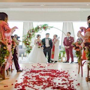 Bali Honeymoon Packages Double Six Luxury Hotel, Seminyak Wedding Setup1