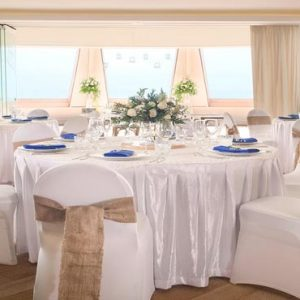 Bali Honeymoon Packages Double Six Luxury Hotel, Seminyak Weddings Reception Setup1