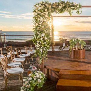 Bali Honeymoon Packages Double Six Luxury Hotel, Seminyak Weddings Setup