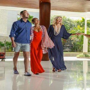 Bali Honeymoon Packages Double Six Luxury Hotel, Seminyak Welcoming Customers