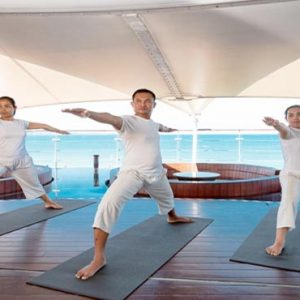 Bali Honeymoon Packages Double Six Luxury Hotel, Seminyak Yoga