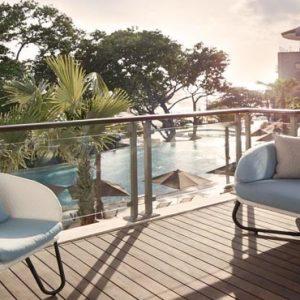 Bali Honeymoon Packages Double Six Luxury Hotel, Seminyak Balcony