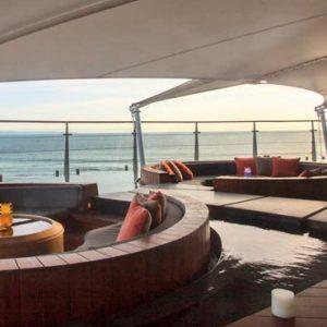 Bali Honeymoon Packages Double Six Luxury Hotel, Seminyak Floating Pod At Rooftop Bar
