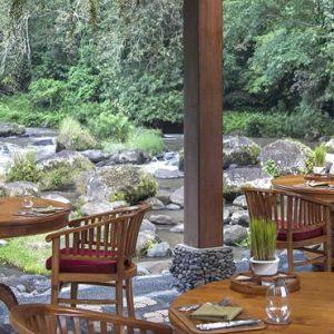 Bali Honeymoon Packages The Royal Pita Maha Ayung Garden Restaurant