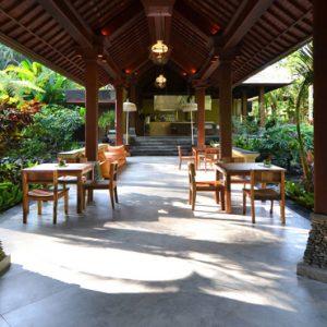 Bali Honeymoon Packages The Royal Pita Maha Ayung Garden Restaurant1