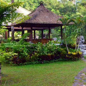 Bali Honeymoon Packages The Royal Pita Maha Ayung Garden Restaurant4