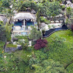Bali Honeymoon Packages The Royal Pita Maha Birds View Of Resort