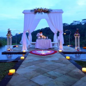 Bali Honeymoon Packages The Royal Pita Maha Romantic Candlelit Dinner