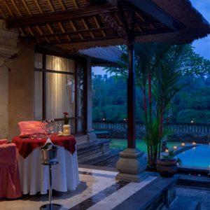 Bali Honeymoon Packages The Royal Pita Maha Romantic Dinner Setting