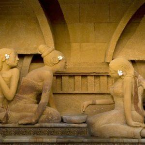 Bali Honeymoon Packages The Royal Pita Maha Statues
