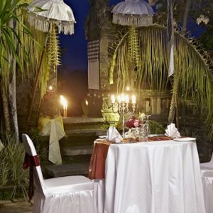 Bali Honeymoon Packages The Royal Pita Maha Temple Private Dinner