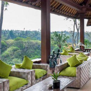 Bali Honeymoon Packages The Royal Pita Maha Terrace View