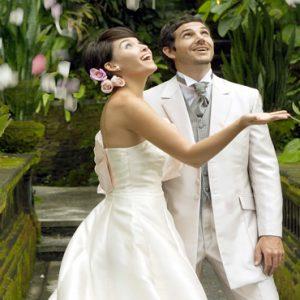 Bali Honeymoon Packages The Royal Pita Maha Wedding Couple