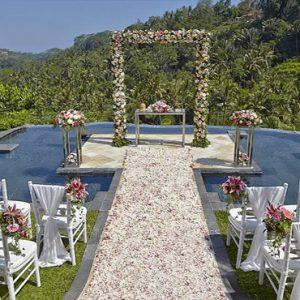 Bali Honeymoon Packages The Royal Pita Maha Wedding Garden Setting