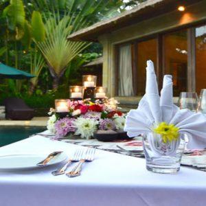 Bali Honeymoon Packages The Royal Pita Maha Romantic Dinner In Villa1