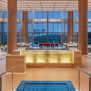 Dubai Honeymoon Packages JA Lake View Hotel 81 Restaurant