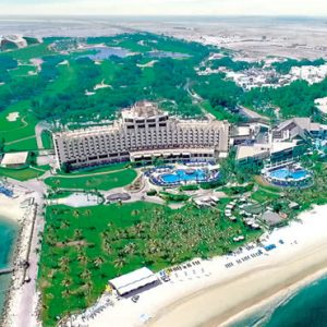 Dubai Honeymoon Packages JA Lake View Hotel Aerial View