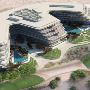 Dubai Honeymoon Packages JA Lake View Hotel Aerial View Of Resort