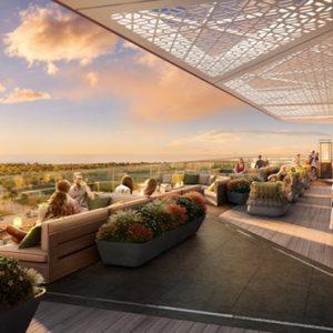 Dubai Honeymoon Packages JA Lake View Hotel Dining Views