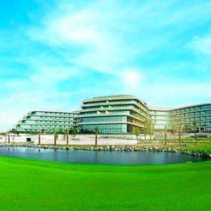Dubai Honeymoon Packages JA Lake View Hotel Exterior