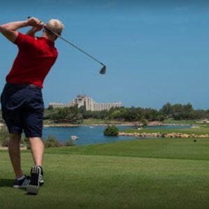 Dubai Honeymoon Packages JA Lake View Hotel Golf1