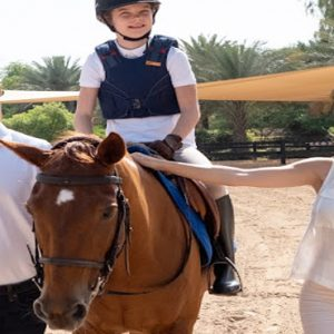 Dubai Honeymoon Packages JA Lake View Hotel Horse Riding