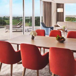 Dubai Honeymoon Packages JA Lake View Hotel Luxury Two Bedroom Suite Living Room