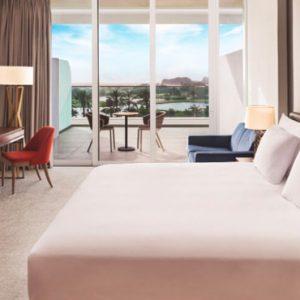 Dubai Honeymoon Packages JA Lake View Hotel Luxury Two Bedroom Suite Bedroom