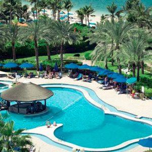 Dubai Honeymoon Packages JA Lake View Hotel Palmito Pool Bar