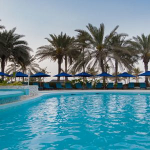 Dubai Honeymoon Packages JA Lake View Hotel Pool Bar
