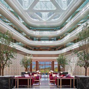 Dubai Honeymoon Packages JA Lake View Hotel Lobby