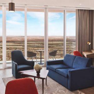 Dubai Honeymoon Packages JA Lake View Hotel Junior Suite Living Room