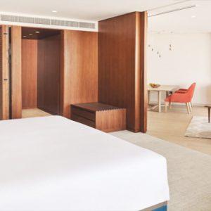 Dubai Honeymoon Packages JA Lake View Hotel Junior Suite Bedroom