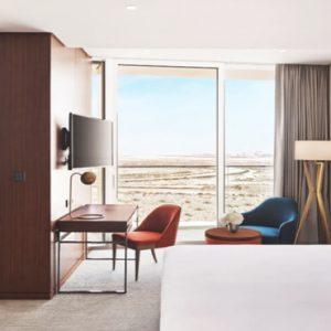 Dubai Honeymoon Packages JA Lake View Hotel Junior Suite Bedroom1