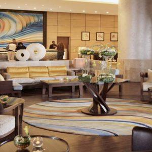 Dubai Honeymoon Packages Amwaj Rotana Atrium Lobby Lounge